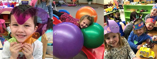 Children at Firelands Preschool