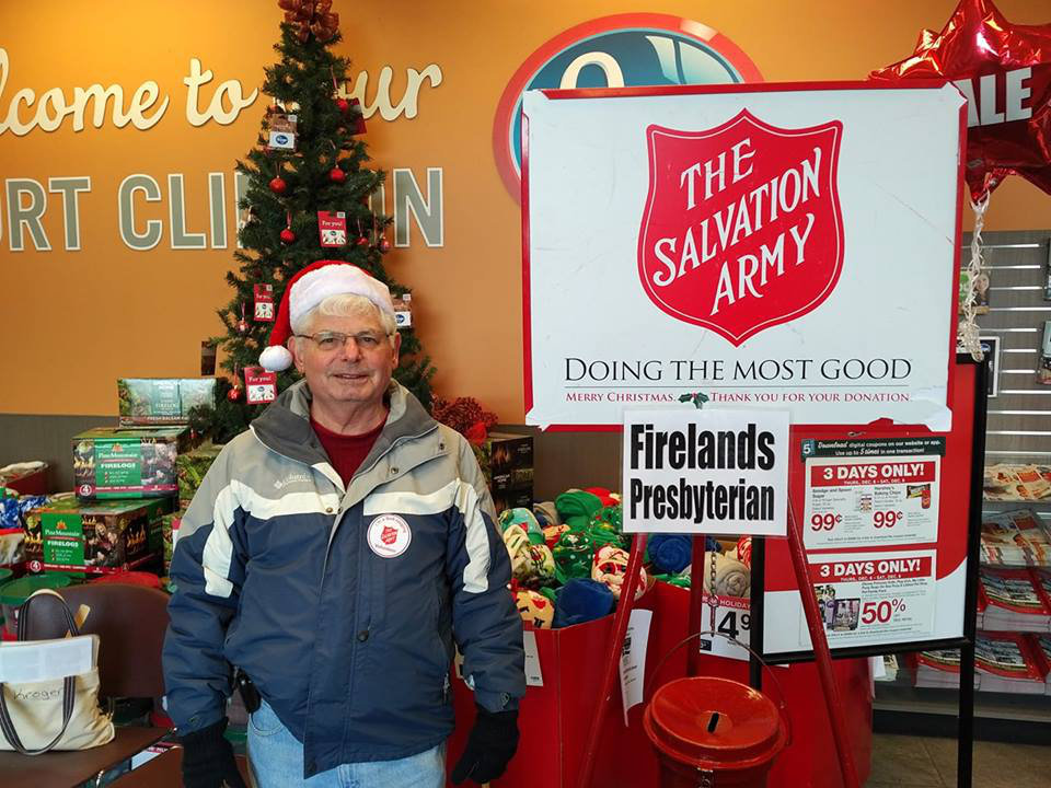 Chuck Ringing for the Salvation Army